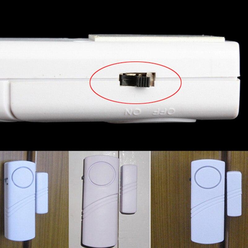 Newly Longer Door Window Wireless Burglar Alarm System Home Safety Security Device DC128