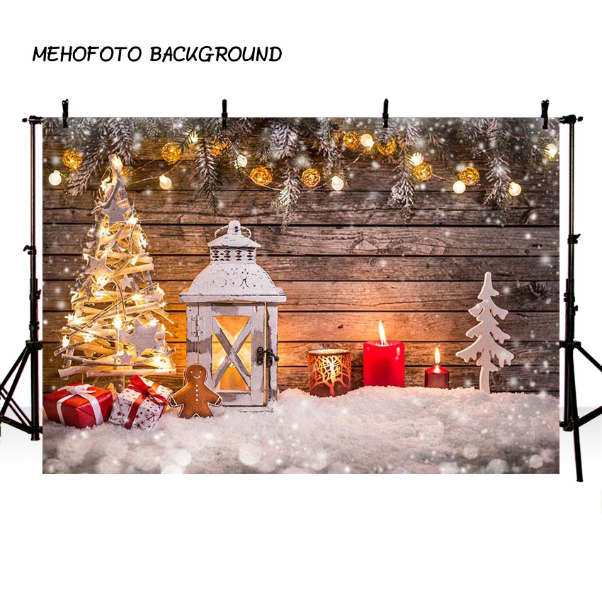 Christmas Party New Year Snow Gifts Baby Children Photography Backgrounds Custom Photographic Backdrops For Photo Studio