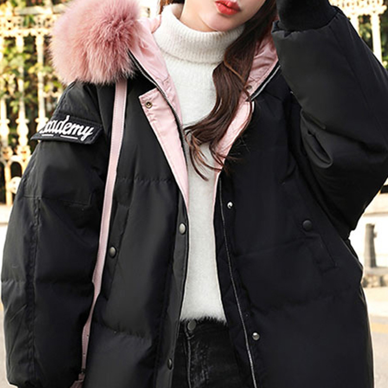 Chic Coréenne Vêtements Femmes 2018 Coton Bas Black Le armygreen Hiver Manteau Marée Sauvage Version X370 Court Vers Nouveau Paragraphe De Veste wqgWZO