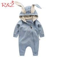 R Z Baby Jumpers 2017 New Spring Autumn Cute Cartoon Zipper Rabbit Infant Girl Boy Jumpers
