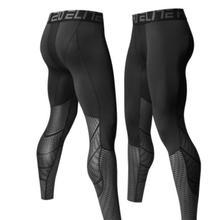 Men Bodybuilding Jogging Leggings Compression Base Layer Pan