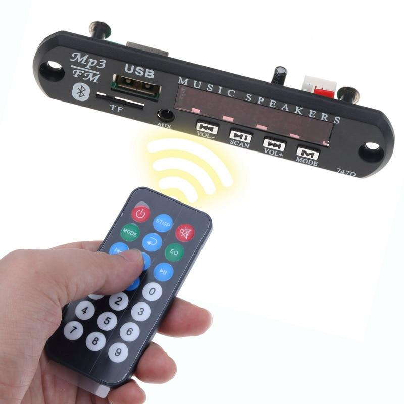 Unterhaltungselektronik Tragbares Audio & Video Kebidu Bluetooth Usb Mp3 Decoder Board Modul Auto Musik-player Mit Fernbedienung Fm Aux Radio Für Auto Compatiable Für 5-12 V Moderater Preis