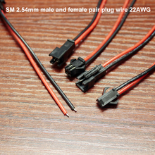 Get more info on the 50set/lot Sm2.54mm Terminal Line Male And Female Air Docking 2p Plug Single Head Electronic 2.54 Spacing Cable 22awg