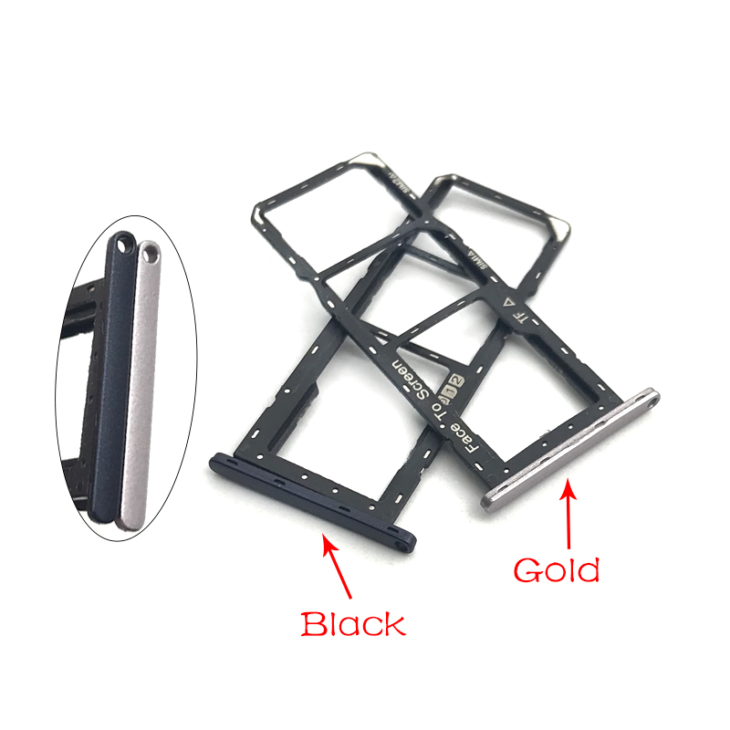 SIM Card Slot Tray Holder For Asus Zenfone Max Pro M1 Zb601kl ZB602KL Sim Card Adapter High Quality