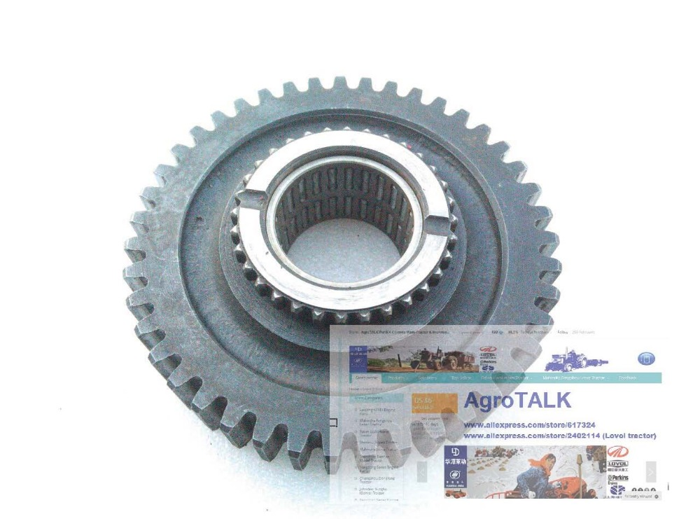 KM454 554 tractor part, the driven gear low speed with need bearing, parts number: 450.37.112 top end bearing 18 x 23 x 22 manufacturer wiseco manufacturer part number b1014 ad stock photo actual parts may vary