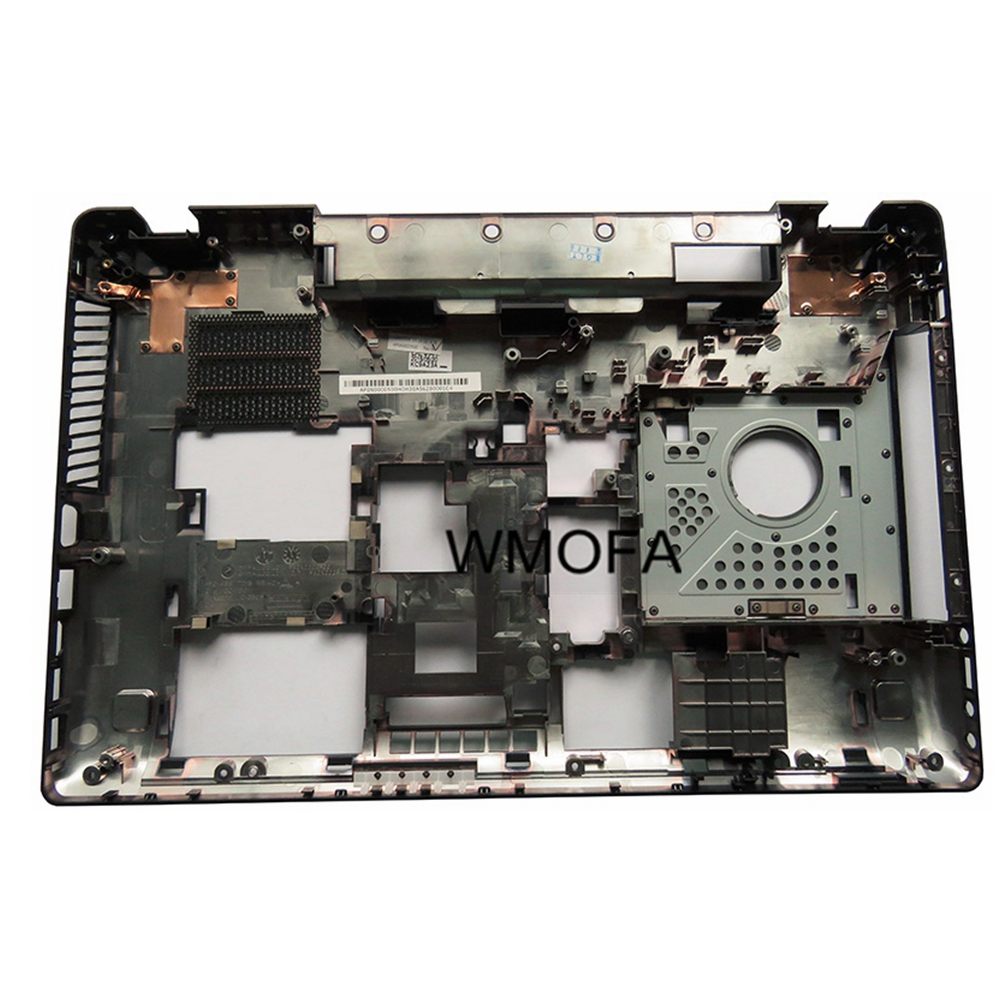 все цены на New Bottom cover for Lenovo ideapad Y580 Y580A Y580N Y585 bottom case base cover TV interface D shell онлайн