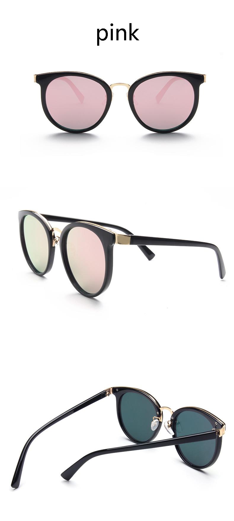 HTB1jj6fPXXXXXcEXVXXq6xXFXXXl - Cat Eye Pink Mirror Square Sunglasses 2018 New Fashion
