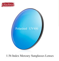 1 56 Polarized UV 400 Protection Colorful Sun Lenses Prescription Mercury Sunglasses Myopia Lenses