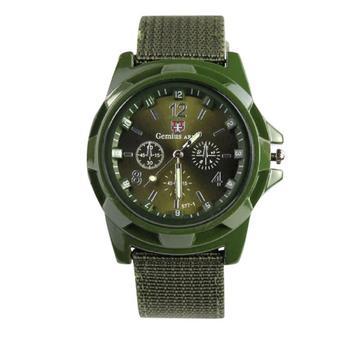 Man Army Military Fabric Wrist Watch Relogio Masculino