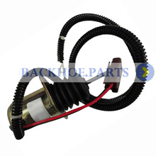 цена на 12V Fuel Shut Off Solenoid AM124377 for John Deere Skid Steer Loader 375 655 755 855 856 955 3375 4475