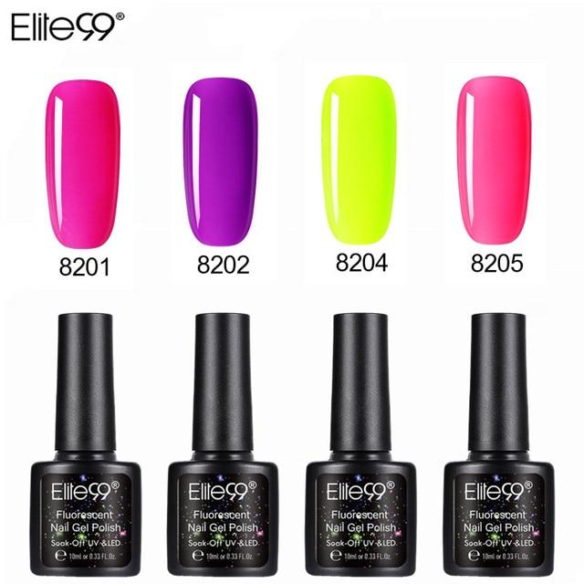 Elite99 Fluorescen Bunte Gel Lack UV Nagel Gel Polnisch Nägel Gel Lack Candy Farbe Nail art Gel Maniküre Nägel Lack