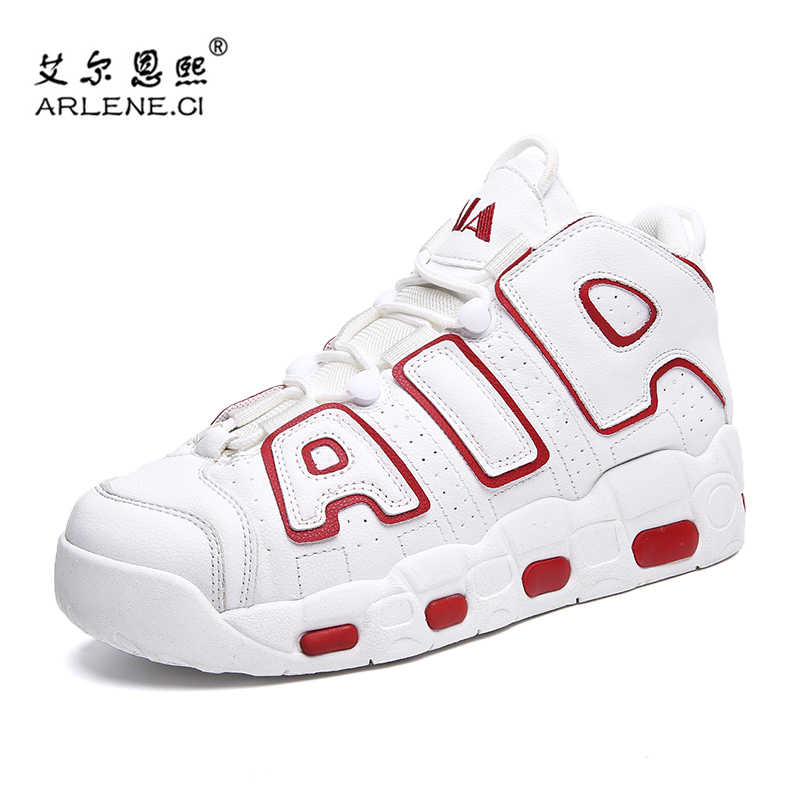 2019 Basketball Shoes for Men Stability Sports Shoes Mens Air Comfortable Sneakers Jordan Hombre Athletics Basket Shoes Trainers