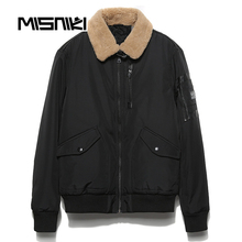 MISNIKI 2017 New Fashion Bomber  Winter Jacket Men Warm Casual High Quality Mens Winter Parkas Coat