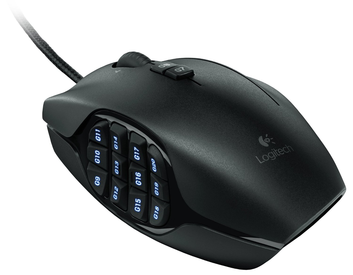 Image 2 - Logitech G600 MMO GAMING MOUSEComplete control in your favorite MMOs-in Mice from Computer & Office