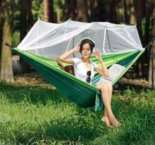 Hanger outdoor swing adult cradle mosquito net chair household dormitory bed student double hammock free shipping