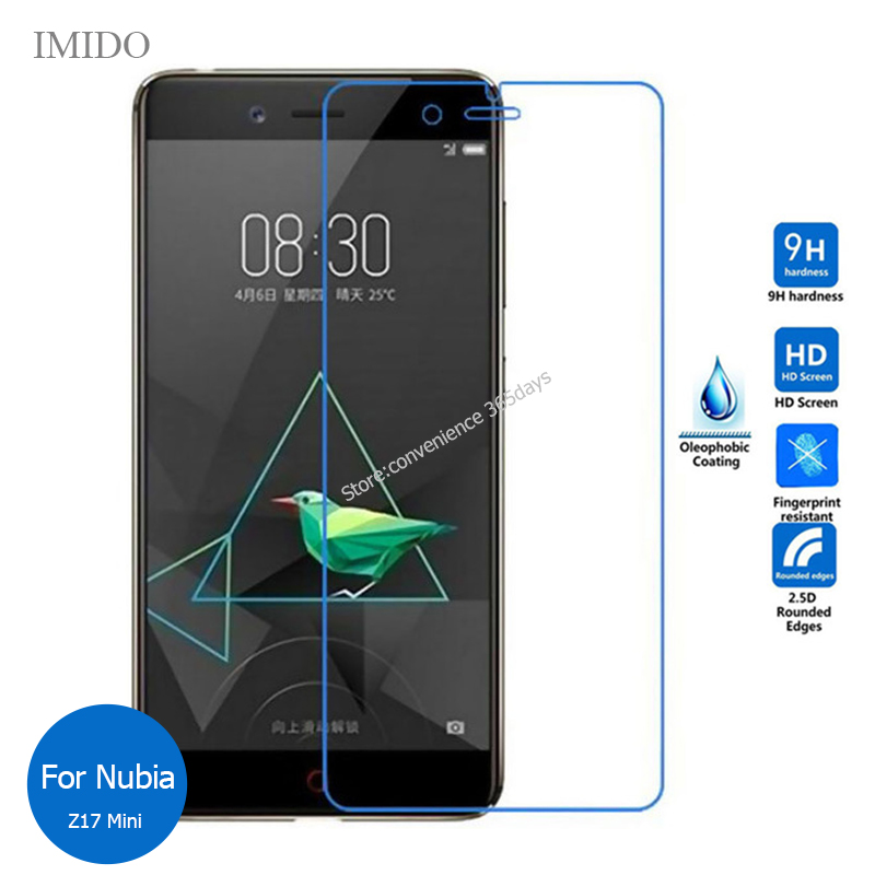 Tempered Glass For <font><b>Zte</b></font> <font><b>Nubia</b></font> <font><b>Z11</b></font> <font><b>MiniS</b></font> Z17 <font><b>Mini</b></font> S Z18 Lite <font><b>Screen</b></font> Protector 2.5 Safety Protective Film On Z 11 17 18 image