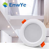 EnwYe LED Downlight plafond 3 W chaud blanc/froid lumière LED blanche AC 220 V 230 V 240 V nouveau style
