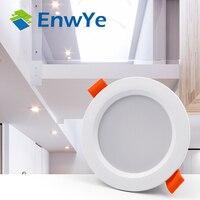 Enwye led downlight teto 3 w branco quente/branco frio conduziu a luz ac 220 v 230 v 240 v novo estilo