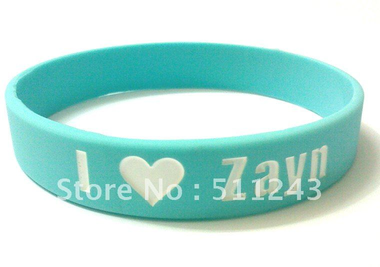 One Direction wristbands/Bracelet take with concert tickets I Love 1D Direction