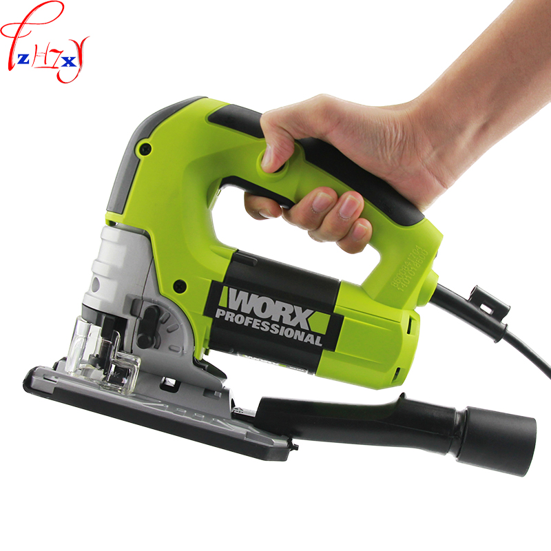 1pc WU462 Multi function speed regulating curve saw hand held woodworking curve saw reciprocating saw electric tools 220V 720W