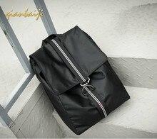 Man Shoulders Laptop Travel Backpack School Bags Leisure Nylon Bag Mochila Mujer Korean Style Fashion Casual Bagpack Backpacks