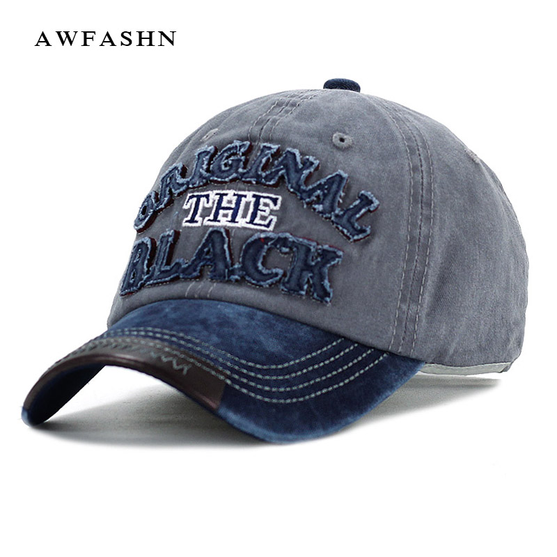 Hot Retro Washed Baseball Cap Fitted Cap Snapback Hat For Men Bone Women Gorras Casual Casquette Letter Black Cap 2016 new new embroidered hold onto your friends casquette polos baseball cap strapback black white pink for men women cap