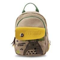 Preppy Style Nylon Composite Backpack Japan Cartoon Anime Letter Printing School Bag For Teenagers Travel Bag