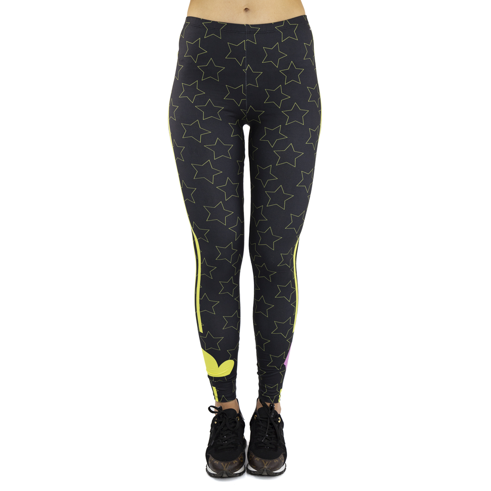 Moody_weather Printing Sexy Elastic Fitness   Leggings   paddy Workout   Legging   Stretch Slim Sportswear   Leggings