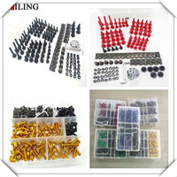 Universal accessories Motorbike Motorcycle Screws Pike Bolts nuts Fairing FOR HONDA CRF450R CRF250X CRF450X CRF230F CRF250R