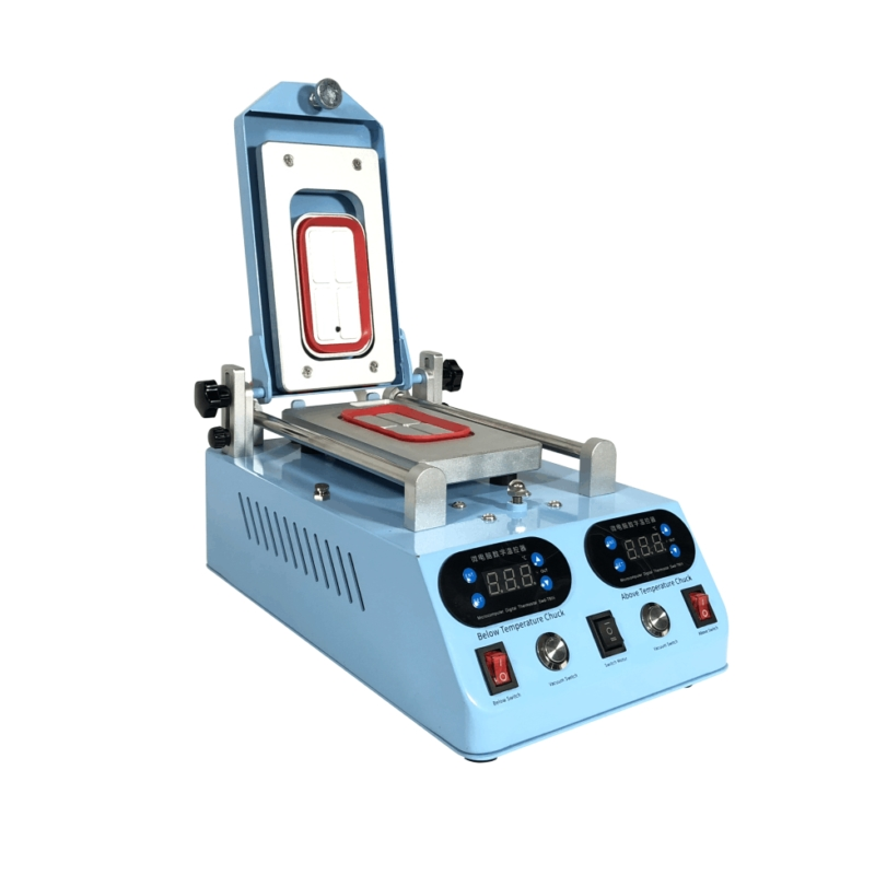 Wholesale LY 268 automatic lcd screen frame bezel heating separator machine for flat curved screen glass middle frame separate