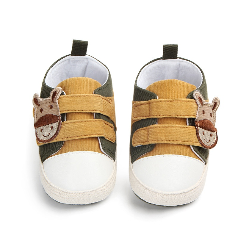 Baby Anti-slip Spring Autumn Cartoon Shoes for Boy Girls Kids Soft Sole First Walkers Casual Walking Crib Shoes