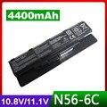 4400 mah batería del ordenador portátil para asus n46vj n46vm n46vz n56 n56d n56dp N56DY N56J N56JK N56JN N56JR N56VV N56V N56VB N56VJ N56VM N56VZ