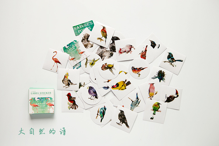 colorful cute japanese style scrapbooking paper stickers gift dairy paper seal sticker home decoration paper craft