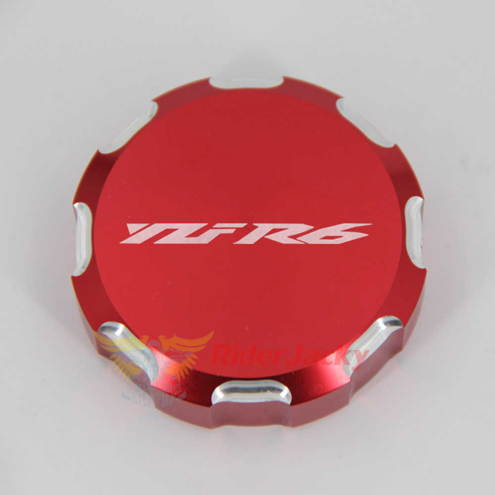 Motorcycle Rear Front Brake Fluid Oil Reservoir Cap For Yamaha YZF-R6 2006-2019