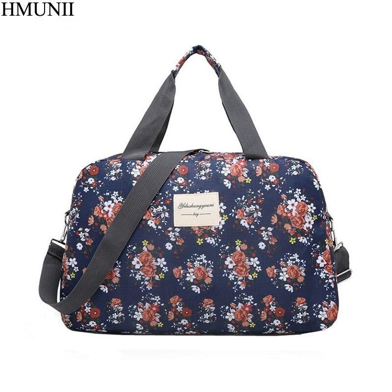 HMUNII Women Traveling Shoulder Bag Large Capacity Travel Ba