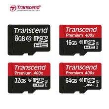 D'origine Transcend Carte Micro Sd Micro SD SDXC 64 GB UHS-I SDHC 32 GB 16 GB 8 GB Class10 TF Carte Cartao Micro SD