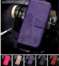 HATOLY For Case HTC U11 Cover Flip Leather & TPU Holster Kickstand Case For HTC U11 Case For HTC U11 / Vive Card Slot Funda 5.5 смартфон htc u11 64 gb черный