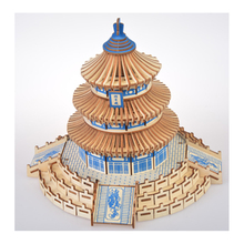 DIY Model toys 3D Wooden Puzzle-Chinese architectural model Temple of Heaven Kits Puzzle Game Assembling Toys Gift P35