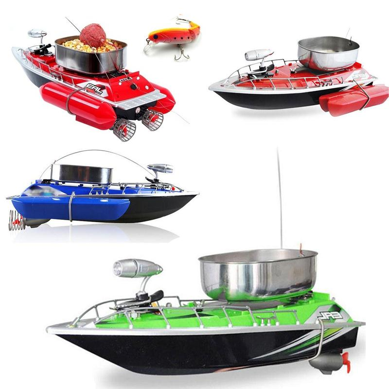 relefree Newest Remote Control 5200MAH Bait Fishing Boat Remote Fish Finder Boat Wireless Fishing Lure Boat lure boat/ Anti Wind boat