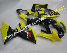 Hot Sales,Yellow black Sportbike parts For Suzuki K9 GSXR1000 2009-2014 GSX R1000 09 10 11 12 13 14 Fairing (Injection molding)