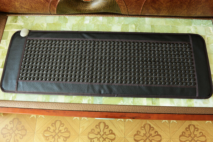 2019 подгряване на масаж джейд каменни матрак турмалин отопление мат турмалин отопление матрак подарък око 50 * 150CM  t