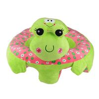 Baby Sitting Chair Baby Seat Learn To Sit Cute Animal Plush Toy Green frog