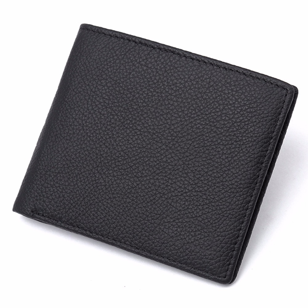 Wallet for Men-Genuine Leather RFID Blocking Bifold Stylish Wallet With ID Window-Brown