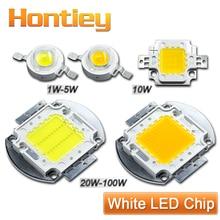 High Power LED Chip 1W 3W 5W 10W 20W 30W 50W 100W Watt Warm Pure Cool White Light Bulb Matrix Lamp SMD COB 3000K-6000K-15000K