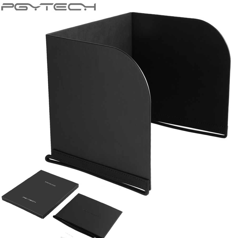 PGYTECH Universal 7 9 9 7 inch Portable Lightweight Comfortable Touching PU Silicone Material Monitor Hood