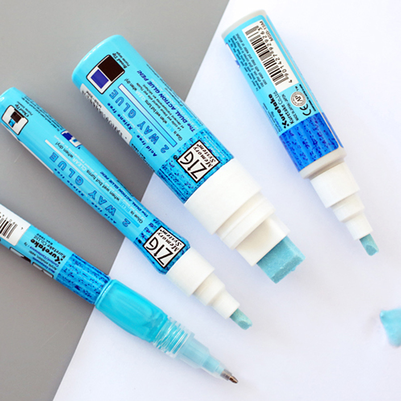 JIANWU/1pc JAPAN  Kuretake ZIG Environmental Protection Coloured Glue DIY Tools Glue Pens Office Supplies