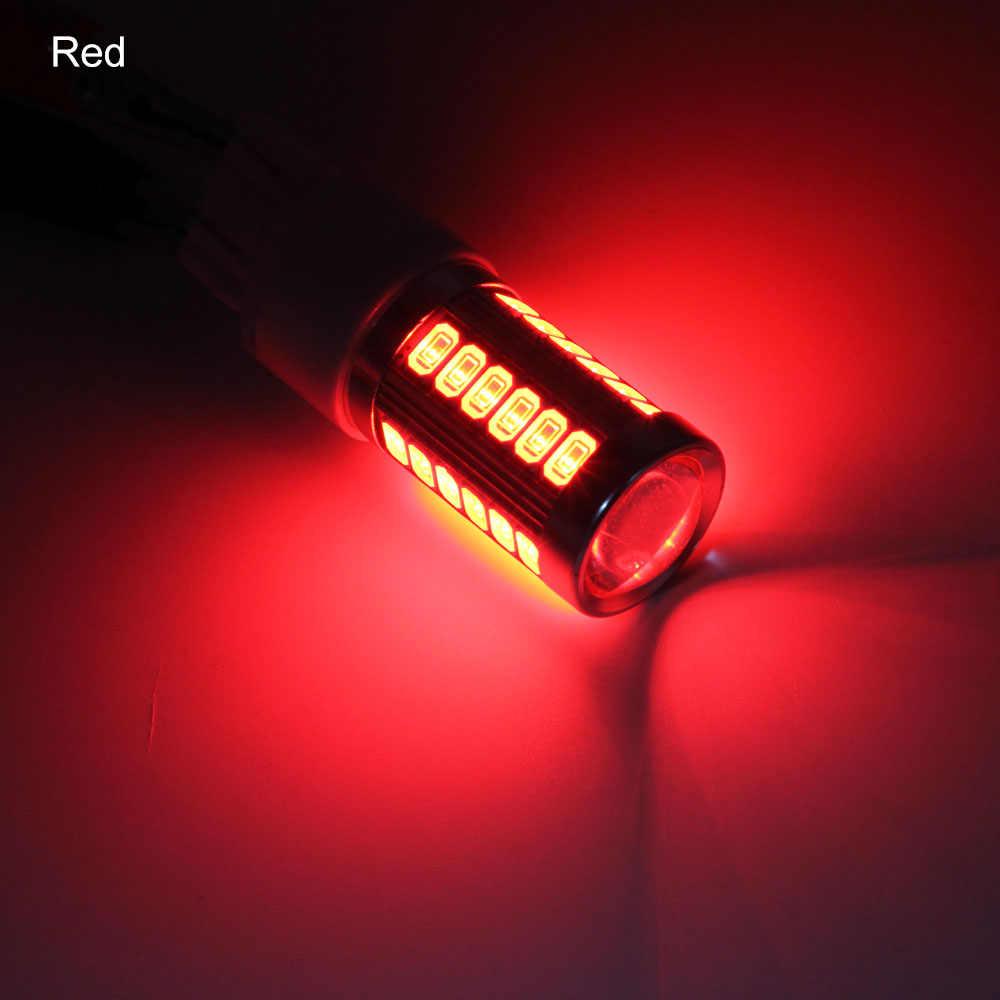 ANBLUB 7443 T20 W21/5W 5630 phares de frein de voiture 12V 5730 33SMD   1 pièce, ampoule inversée de stationnement
