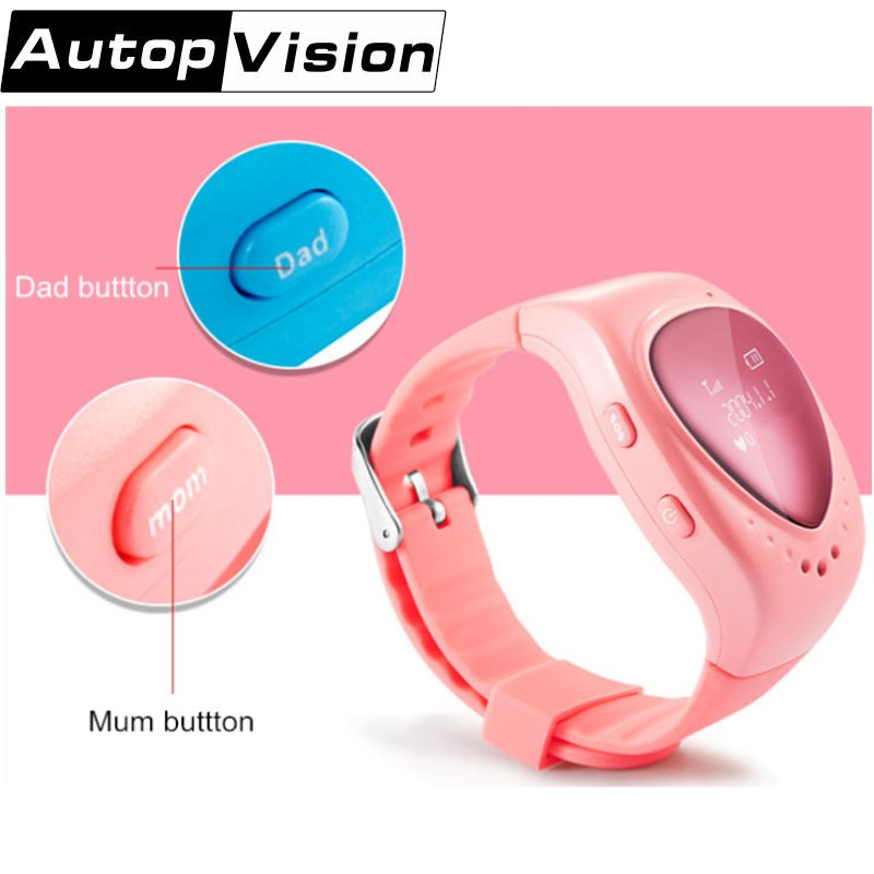 5pc/lot A6 GPS Tracker Kids Smart Watch Heart Oled Screen GPS LBS Tracking Locater for Kids Children Support SOS Call Google Map smart safe gps lbs location hd oled heart screen wristwatch sos call finder tracker anti lost remote monitor watch for kid child