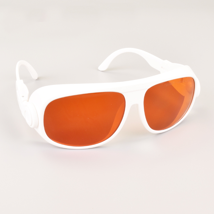 big laser safety glasses for multi-wavelengths lasers 190-550nm and 800-1100nm O.D 6+ CE 532nm and 1064nm lasersbig laser safety glasses for multi-wavelengths lasers 190-550nm and 800-1100nm O.D 6+ CE 532nm and 1064nm lasers