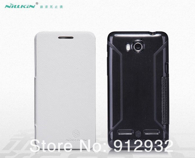 Nillkin Mix leather case hard case back cover for Huawei U8950D Nillkin flip cover For Huawei Ascend G600 For huawei Honor 2